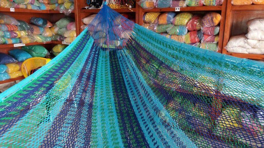 hamaca maya algodon grueso 2 kg