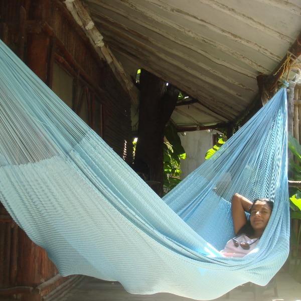 Hamacas Mayas, hamaca azul