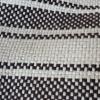 Hamaca familiar Tintorero cruda y detalles negros
