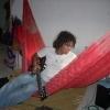 con guitarra en hamaca