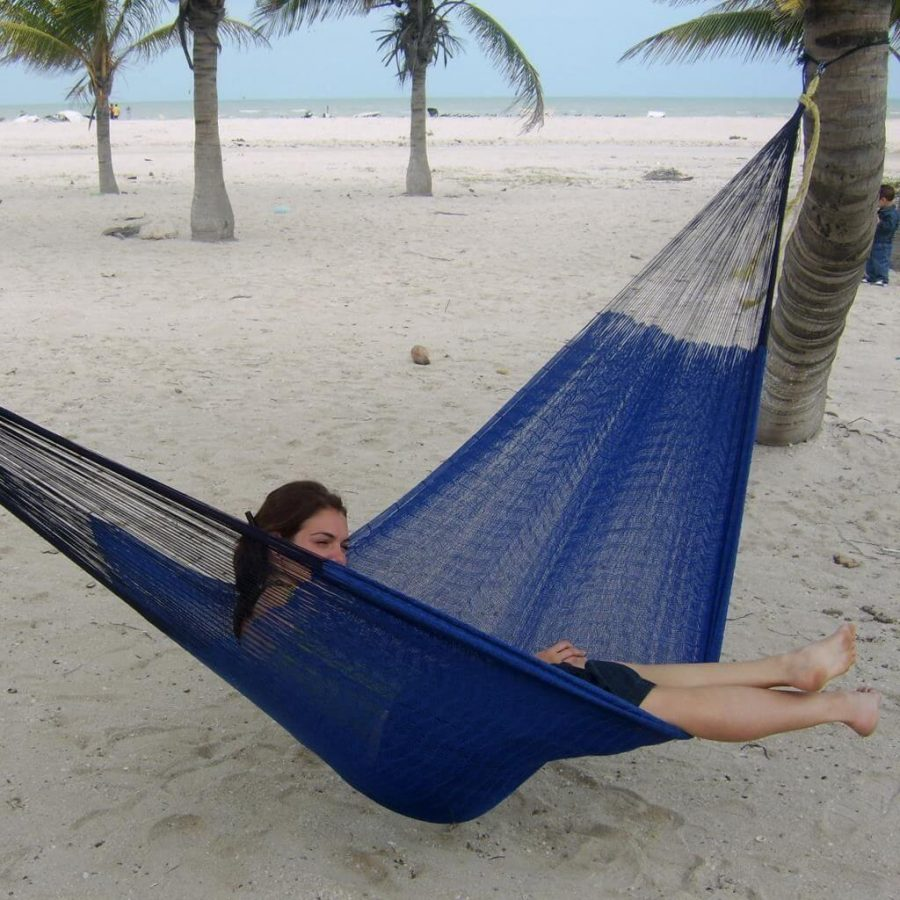 hamaca en la playa