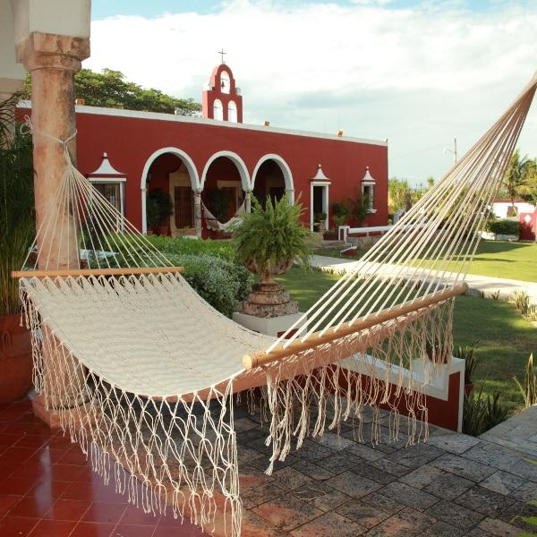 hamaca maya con barras